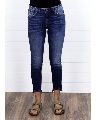 Mid Rise Ankle Skinny in K870 by Miss Me
