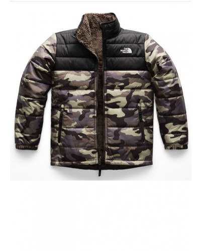Reversible Mount Chimborazo in New Taupe Green Camo Print by The North Face