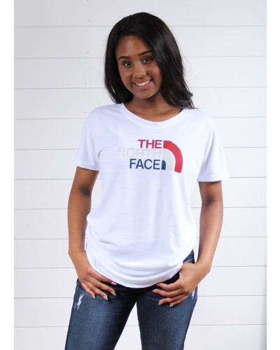 Americana Track Te in TN White Heather by The North Face