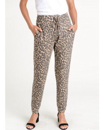 Jogger Pant in Animal by Jodifl