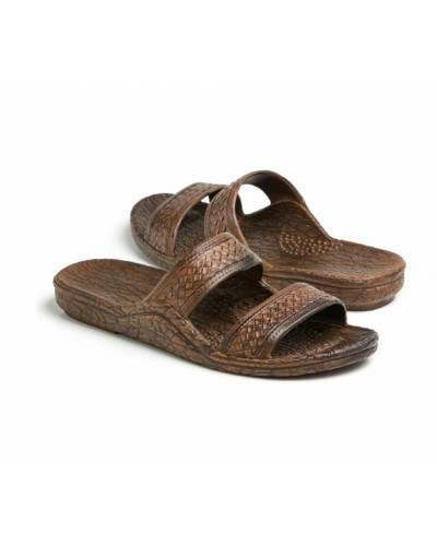 Classic Jandal in Dark Brown by Pali Hawaii