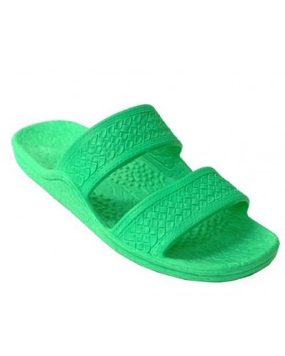 Color Jandal in Spring Green by Pali Hawaii