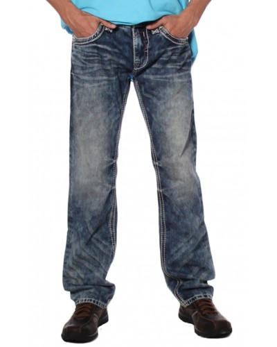 Men's Woven Straight Pants in Edwin J400 by Rock Revival
