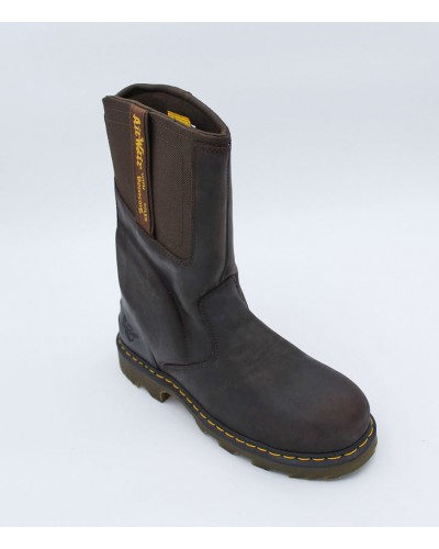 Kirkham St in Gaucho/Dark Brown by Doc Martens