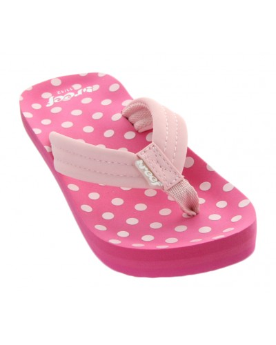 LittleAhi in Pink Polka Dots by Reef