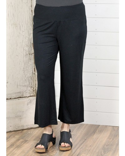 Core Travel Flood Pant in Black by Habitat Clothes