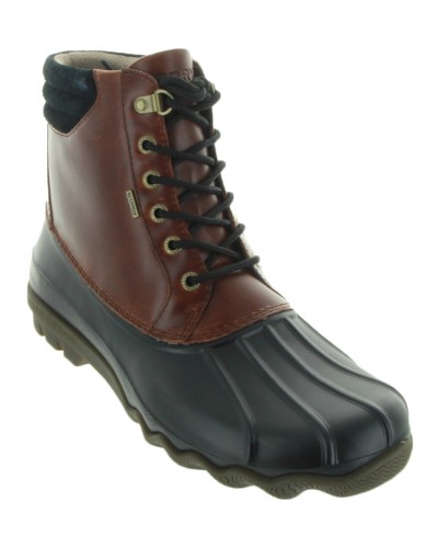 Avenue Duck Boot in Black/Amaretto by Sperry Top Sider
