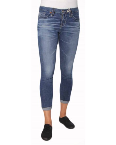 Mid Rise Skinny Jean in 16 Year Ventana Ridge by Big Star