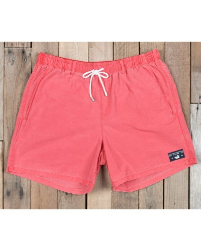 Shoals Seawash Swim Trunk in Washed Red by Southern Marsh