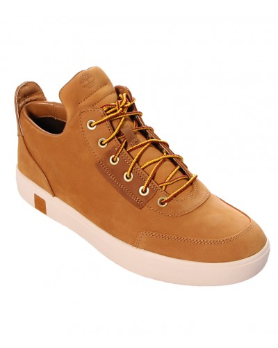 Amherst High Top Chukka Wheat Full-Grain by Timberland