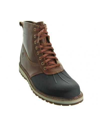 Britton Hill Rubber Toe Boot in Lt Brn by Timberland