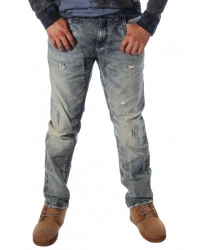 Alt Straight Acid Wash in Jacoby by Rock Revival
