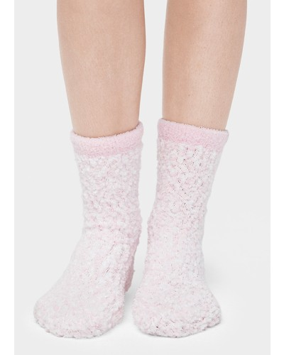 Cozy Chenille Sock in Seashell Pink by UGG