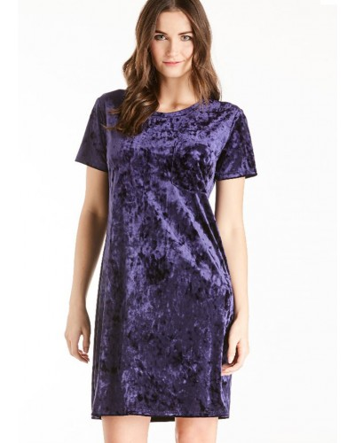 S/S Alex Dress in Plum by Another Love