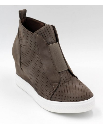 Zoey Sneaker in Taupe by ccocci