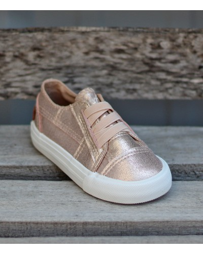 Toddler Marley in Rose Gold Supernova by Blowfish